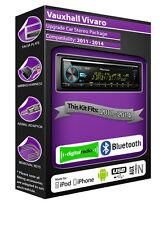 Vauxhall Vivaro Radio DAB , Pioneer CD Estéreo USB ENTRADA AUXILIAR Player,