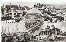 France Postcard - Arcachon - Views of Les Sardiniers - Casino Mauresque ZZ1053