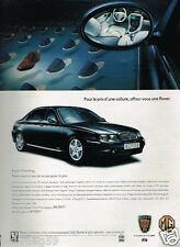 Publicité advertising 2001 MG Rover 75 Sterling