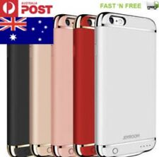 IPHONE 7 AND 7 PLUS BATTERY CASE Ultra-Thin Battery Backup Cover LED AUS STOCK