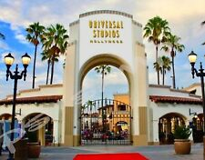 California - UNIVERSAL STUDIOS entrance - Travel Souvenir Flexible Fridge MAGNET
