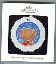 Hallmark - Celebrating Adoption - Teddy Bear - MIB 2002