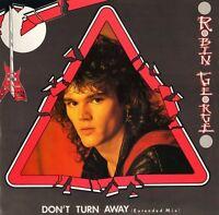 "ROBIN GEORGE don't turn away BROX 195 uk bronze 1985 12"" PS EX/EX"