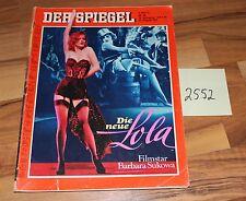 Der Spiegel Die neue Lola Barbara Sukowa Heft vom 31.08.1981 Art. Nr. 2552