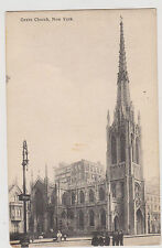GREENWICH VILLAGE GRACE CHURCH, BROADWAY & 10TH ST. BY HAGEMEISTER OF NYC