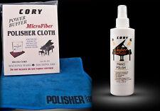 High Gloss Piano Polish Bundle - 8oz bottle + Microfiber Polishing Cloth