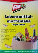 4 Stück Reinex Lebensmittelmottenfalle Lebensmittel Motten Falle Pheromonfalle