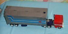 original G1 Transformers OPTIMUS PRIME CAB & TRAILER WITH DOOR