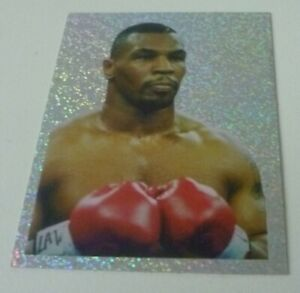 Mike Tyson Merlin Sky Sports 1996 Sticker Foil Superb Condition Very Rare #217