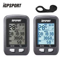 IGPSPORT Black Wireless Speedometer GPS Cycling Computer Bike Stopwatch Bracket