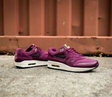Nike Air Max 1 PRM Premium Bordeaux Extra Butter Burgundy Running Athletic Shoe
