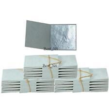 300 Blatt Blattsilber 999/1000 rein 24 Karat Echt Silber Essbar Blattgold