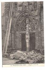beauzée-sur-aire  , l'église (portail)