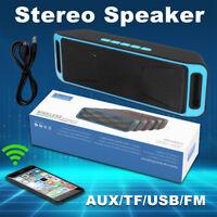 LOUD Wireless Bluetooth Double Speaker Waterproof Outdoor Stereo Bass USB/TF/FM