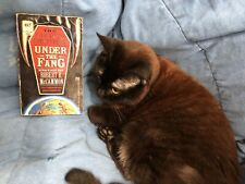 Under the Fang by Sally Peters (1991, Mass Market) Cat Not Included