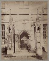 Francia Chiesa Cattedrale Art Religion Vintage Albumina Ca 1880