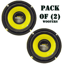 Pack of (2) PYLE PLG54 5-Inch 200 Watt Mid Bass Woofer 200 Watts 5 inches 4-ohm