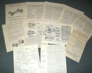 Vintage DOOLING ARROW Tether Race Car Literature
