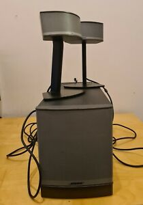 Bose COMPANION50 Multimedia Speaker System missing power cable and original AUX