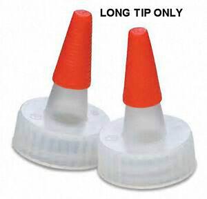 LONG Overcap Sealer Tips for Yorker Dispensing Caps (Lot of 100)