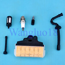Fuel Oil Line Filter Air Filter Spark Plug F STIHL 021 023 025 MS210 MS230 MS250
