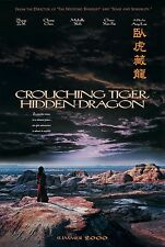 CROUCHING TIGER, HIDDEN DRAGON (2000) ORIGINAL ADVANCE MOVIE POSTER - ROLLED 2-S