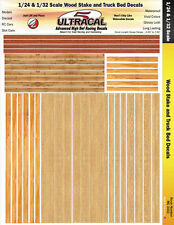 MG3410 - 1/24, 1/32 High Def UltraCal Decal Wood Stake and Truck Bed Decals