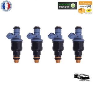 4 Injecteurs Gros Débits 650cc - Haute Impédance 12 Ohms - Prise EV1 - NEUF