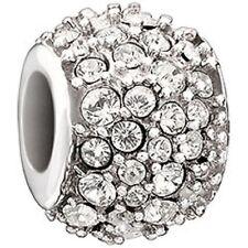 Chamilia Jeweled Kaleidoscope Clear Swarovski Bead 2025-0853 NEW Authentic