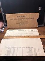 Vintage 1949 STANLEY Handyman No 039 Motor model A Instructions & Part List