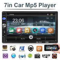 7038B 7 inch 2Din Car Stereo MP5 Player FM Radio Bluetooth Head Unit with Camera