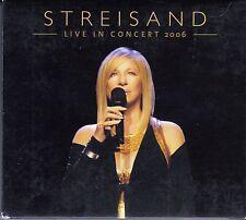 """2 X CD ALBUM DIGIPACK BARBRA STREISAND   """"LIVE IN CONCERT 2006"""""""