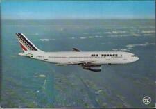 (wjb) Airplane Postcard: Air France, Airbus A300