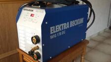 Elektra Beckum 170 DC Wig Schweißgerät