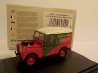 Model Van, Land Rover - Bertram Mills , 1/76 New
