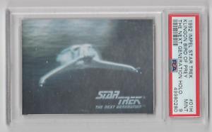 Details about  /1992 STAR TREK ROMULAN STARSHIP HOLOGRAM CHASE CARD 034