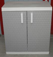 Toomax Kunststoffschrank Rattan Line XL  Grau