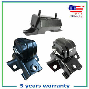 3PCS Engine Motor & Trans Mount For 09-12 Chevrolet Colorado GMC Canyon 5.3L