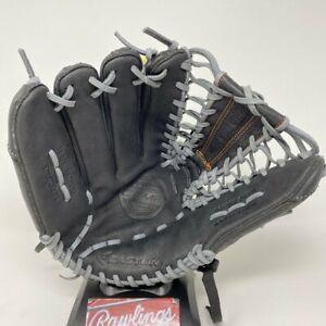 "Easton Mako Comp Baseball Glove 12.75"" LHT Left Hand Throw Black Adult EMKC1275"
