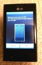 LG Optimus Dynamic L38C 1GB Black Tracfone Smartphone Cell Phone & Battery