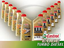 OLIO MOTORE CASTROL EDGE TURBO DIESEL 5W-40 TITANIUM FST CONFEZIONE 12 LT