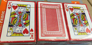 Playing Cards Poker Plastic Coated Magic Tricks Games Casino PACK 1-2-3