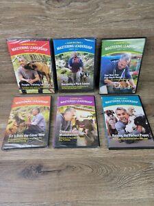Cesar Millan's Mastering Leadership Series 6 DVD Dog training (4 ARE NEW SEALED)