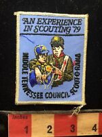 Vtg 1979 Boy Scout Middle Tennessee Council Scout-O-Rama Patch C74I