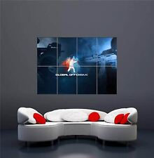 XBOX ONE PS3 PS4 PC GAME COUNTER STRIKE NEW GIANT WALL ART PRINT POSTER OZ1177