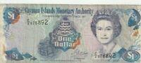 CAYMAN ISLANDS $1 DOLLAR 1996 BANKNOTE