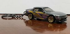 Hot Wheels Nissan Silvia S13 Keychain Hw Speed Graphics Kw
