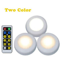 3 PCS Wireless Remote Control Battery Operated Under Cabinet SMD LED night Light