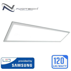 1200x300 300x1200 mm 40W LED Ceiling Panel Light Recessed Cool Day White 6500k