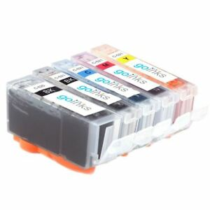 5 Ink Cartridges (5 Set) to replace Canon PGI-520 & CLI-521 Compatible for PIXMA